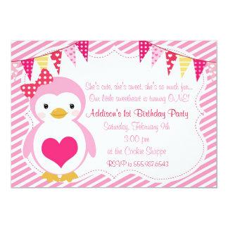 Cartão Festa de aniversário feminino dos namorados do
