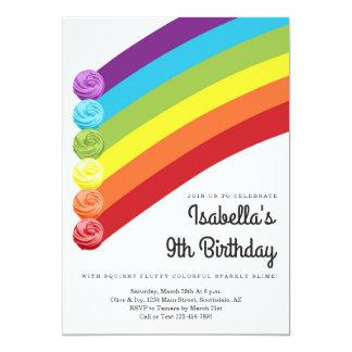 Cartão Festa de aniversário temático personalizada do