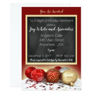 Cartão Festa de Natal do quadro para o negócio/pessoal