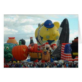 Cartão Festa do balão