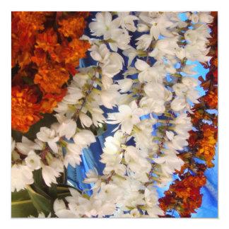 Cartão Festões India da flor