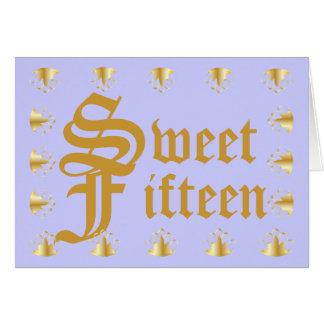 Cartão Fifteenteen doce! - Personalize