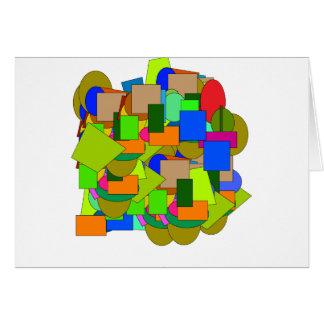 Cartão figuras geométricas