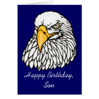 Cartão Filho no aniversário das tropas