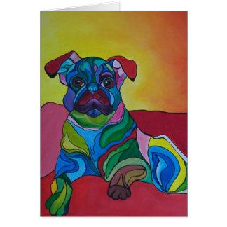Cartão Filhote de cachorro