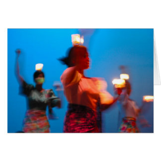 Cartão filipino da dança Pandango sa Ilaw
