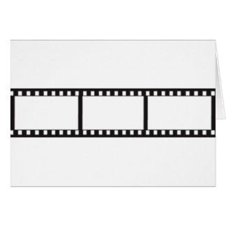 Cartão filmstrip