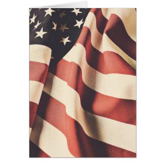 Cartão Filtro da bandeira dos Estados Unidos