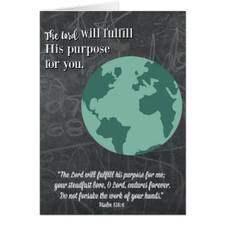 Cartão Finalidade-Religioso da graduação