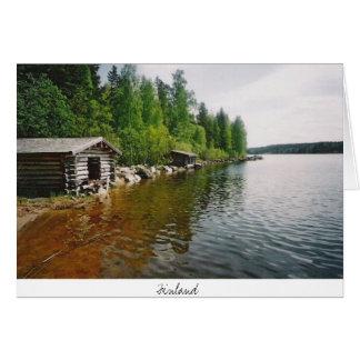 Cartão Finlandia - postacrd
