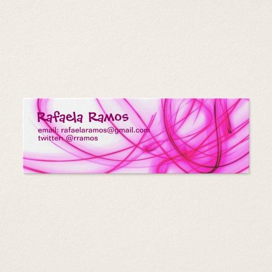 Cartão Fino Light Rosa