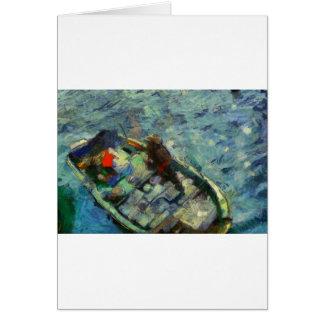 Cartão fisherman_saikung Hong Kong