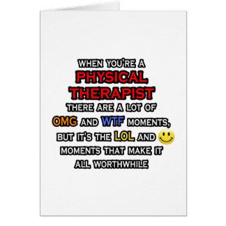 Cartão Fisioterapeuta engraçado… OMG WTF LOL