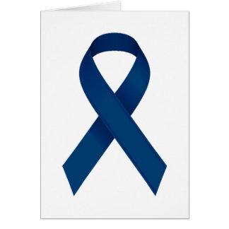Cartão Fita azul