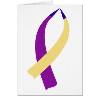 Cartão Fita da consciência (cancer de bexiga)