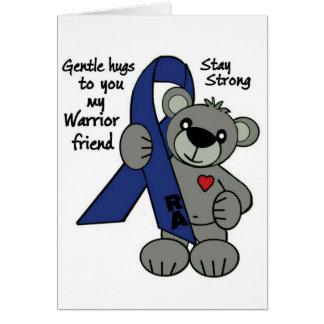 Cartão Fita do urso de ursinho do RA (artrite reumatóide)