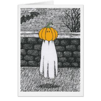 Cartão Floaty do fantasma