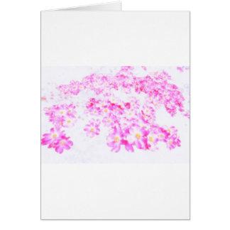 Cartão Flor cor-de-rosa do Dogwood