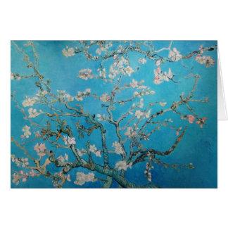 Cartão Flor da amêndoa, Van Gogh 1890
