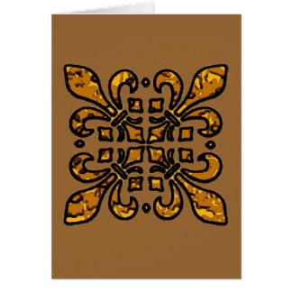 Cartão Flor de lis