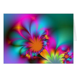 Cartão Flor do jardim de infância - o soneto #116 de