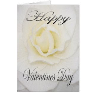 Cartão Flor dos namorados no branco