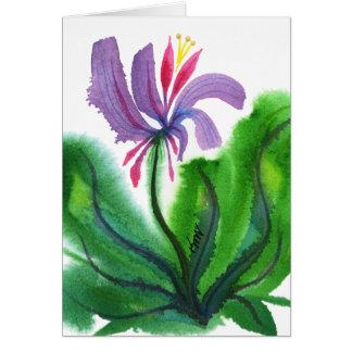 Cartão Flor, mini 002
