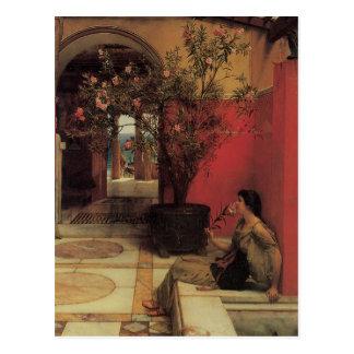 Cartão florais das belas artes cartão postal