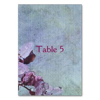 Cartão Floral azul bonito