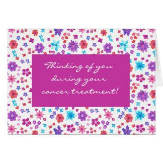 Cartão Floral bonito obtem o apoio bom do tratamento