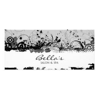 Cartão floral da cremalheira do Grunge Panfleto Personalizado