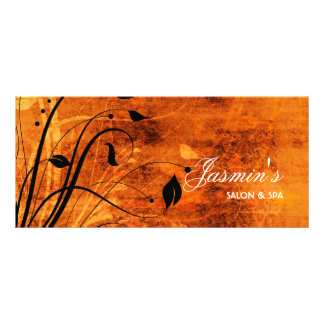 Cartão floral da cremalheira do Grunge Planfeto Informativo Colorido