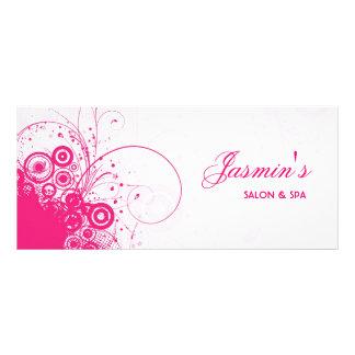 Cartão floral da cremalheira do Grunge Modelo De Panfleto Informativo