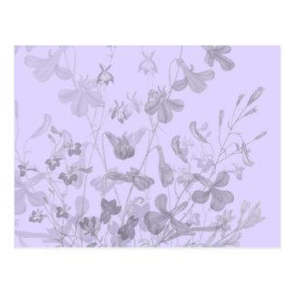 Cartão floral da sugestão