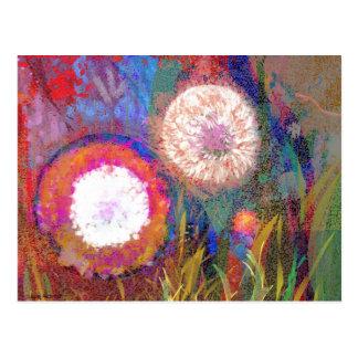 Cartão floral do desenho de Digitas