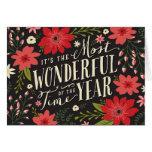 Cartão floral do feriado