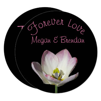 Cartão Floral no obrigado do amor você