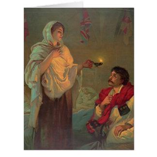 Cartão Florence Nightingale 1891