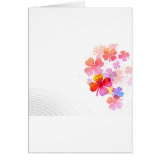 Cartão Flores bonitas