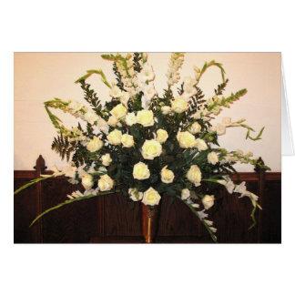 Cartão Flores da páscoa