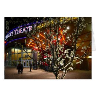 Cartão Flores de cerejeira no cinema