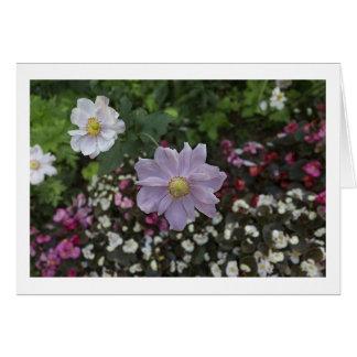 Cartão Flores felizes