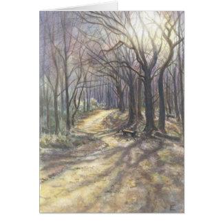 Cartão Floresta