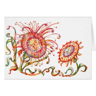 Cartão Flower* *Magical