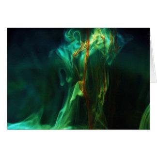 Cartão /Fluorescein de dissolução na água