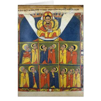 Cartão Folha dos evangelho de Gunda Gunde