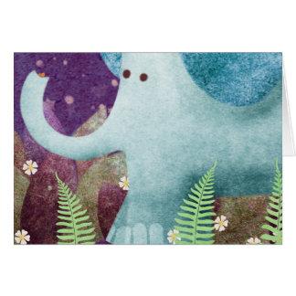 Cartão Fontaine o elefante