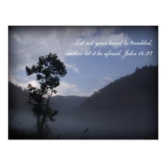 Cartão Fontana da escritura da inspiração, NC