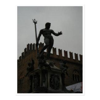 Cartão - Fontana del Nuttuno, Bolonha, Italia