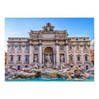 Cartão Fonte do Trevi, Roma, Italia